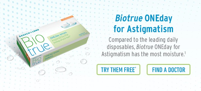 Biotrue ONEday for Astigmatism Contact Lenses